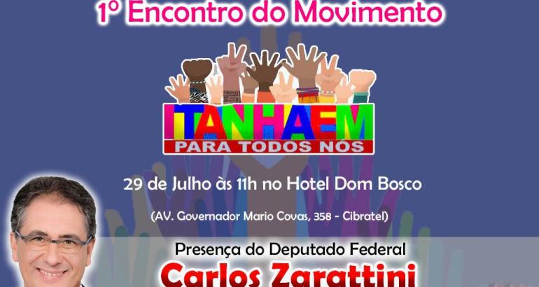 noticia Lider da Bancada do PT em Brasilia, se reunirá com a população de Itanháem.