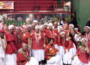 Galeria Coroação da Rainha de bateria da X9 Paulistana