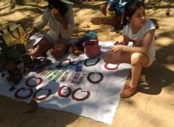 foto Voluntários visitam a Tribo Guarani no Pico do Jaraguá