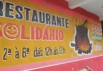 noticia Restaurante Solidário atende à população