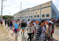 noticia Caminhada contra o sedentarismo reúne cerca de 200 pessoas na cidade de Louveira