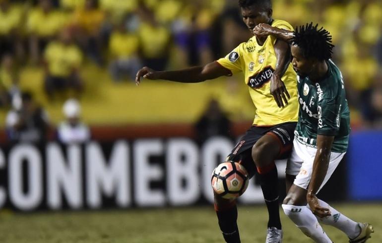 noticia Palmeiras toma gol no fim e perde para o Barcelona-EQU