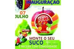 noticia Dia 07 Inauguração do quiosque do suco natural