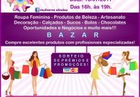 noticia Dia 15/07 - Bazar da Aliadas Shop