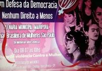 noticia Dia 08/07 Debate de violência contra a mulher em Terra Preta - SP