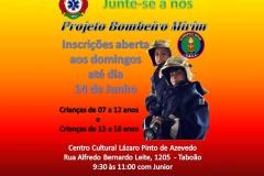noticia Projeto Bombeiro Mirim