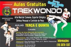 noticia Taekwondo - Aulas Gratuitas