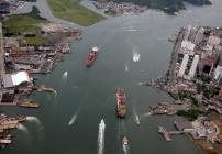 noticia Em Santos SP: Cetesb some e construção da cava subaquática continua sem explicação