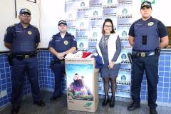 noticia GCM de CAIEIRAS PROMOVE AÇÃO SOCIAL