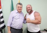 noticia Louveira sera a mais nova casa da Confederação Brasileira de Strongmam