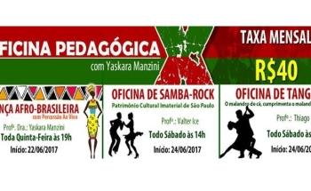 noticia Oficinas Pedagógicas na X9-Paulistana