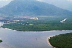 noticia No Estuário de Santos: VLI -Ultrafértil começa a colocar os resíduos tóxicos na cava subaquática