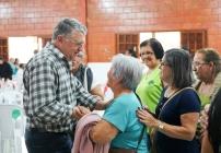 noticia  Em Louveira Idosos do CCI participam de almoço comemorativo do Dia dos Pais
