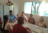 noticia Em Alagoas, Prefeito Hugo Wanderley promove reunião com comerciantes da cidade de Cacimbinhas