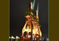 noticia Doação de órgãos é incentivada com iluminação verde nos guindastes do Pier Mauá no Porto do RJ