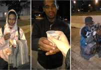 noticia Em São Bernardo do Campo SP Grupo Anjos sem Asas ajudam moradores de rua, asilos e orfanatos