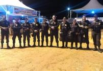 noticia Tropa de Eliete, faz a segurança na 33° Festa Cultural de Poté - MG