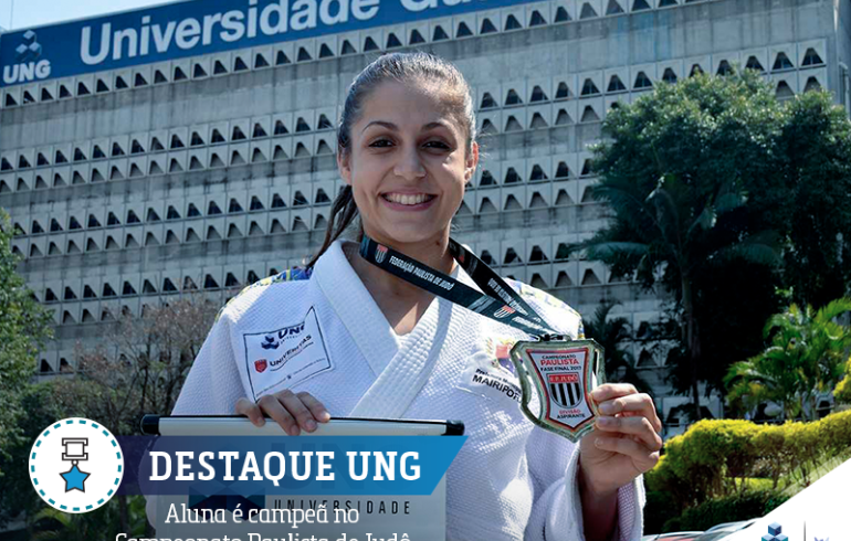 noticia Atleta Carolina Martinez é destaque em sua Universidade
