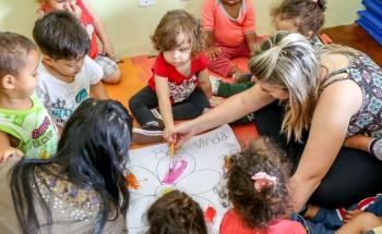 noticia Creches  terceirizadas  em Louveira mantêm a alta qualidade de atendimento às crianças