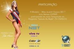 noticia Miss Teen Júlia Hemza é a nova sensação das passarelas em São Paulo