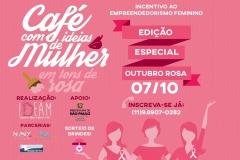 noticia EMPREENDEDORISMO FEMININO SERÁ TEMA DO CAFÉ COM IDEIAS DE MULHER