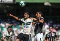 noticia Corinthians joga mal e não sai do 0x0 com Coritiba