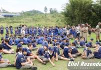 noticia Rally 2017 dos Lobinhos do 16º Distrito de Escoteiros do Brasil Monta acampamento em Louveira.