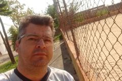 noticia Em Salto - SP: Marquinhos Silva liderança comunitária e Presidente do PEN cobra melhorias para a única praça esportiva no Bairro Jd. Saltense