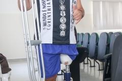 noticia Prefeitura de Louveira entrega prótese de perna para paciente no CSIII