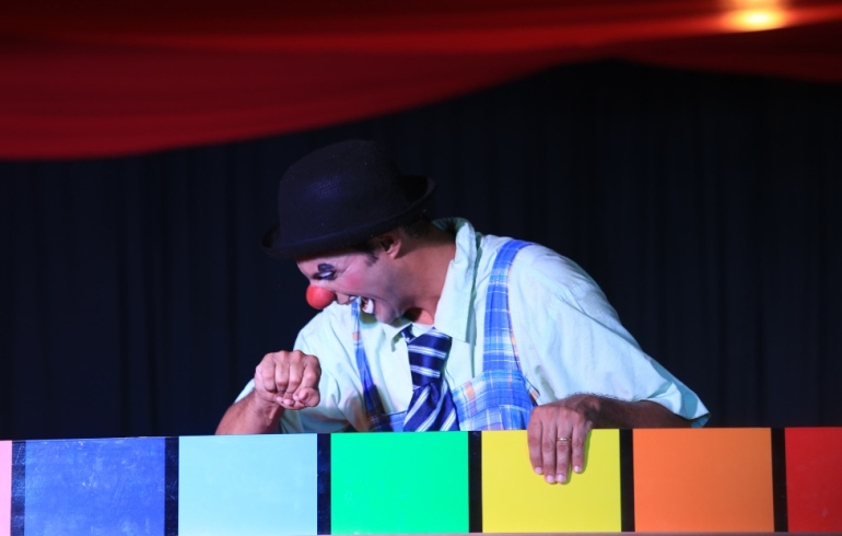noticia Sesc Alagoas: Palhaço Mixuruca se apresenta no Teatro Hermeto Pascoal