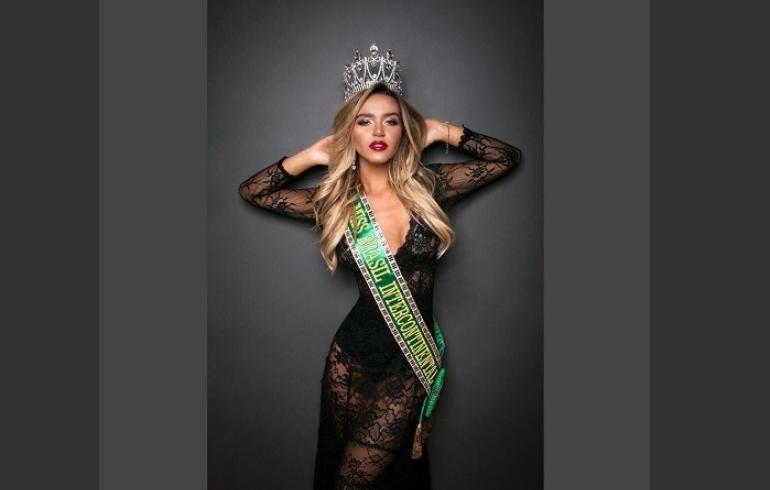 noticia Catarinense se prepara para 'Miss Intercontinental 2017' na Ásia
