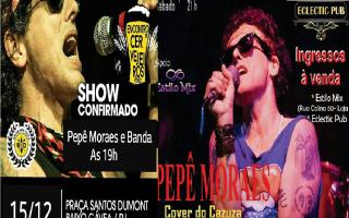noticia Pepê Moraes cover do Cazuza  se apresenta no Rio nos dias 15 e 16 de Dezembro