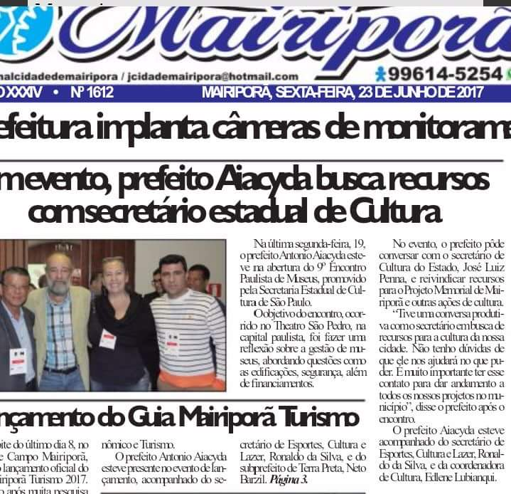 noticia MEMORIAL MUNICIPAL
