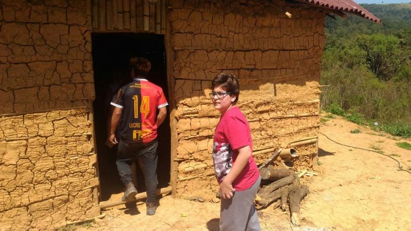 Voluntários visitam a Tribo Guarani no Pico do Jaraguá