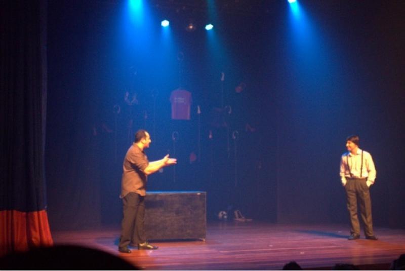 Estreia da Peça Vozes no Teatro Augusta