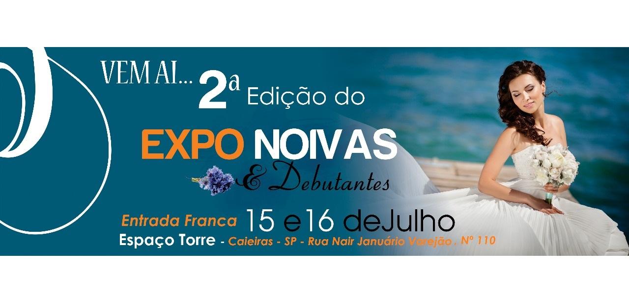 noticia 2ª Edição da Expo Noivas de Caieiras. Dias: 15 e 16 de julho