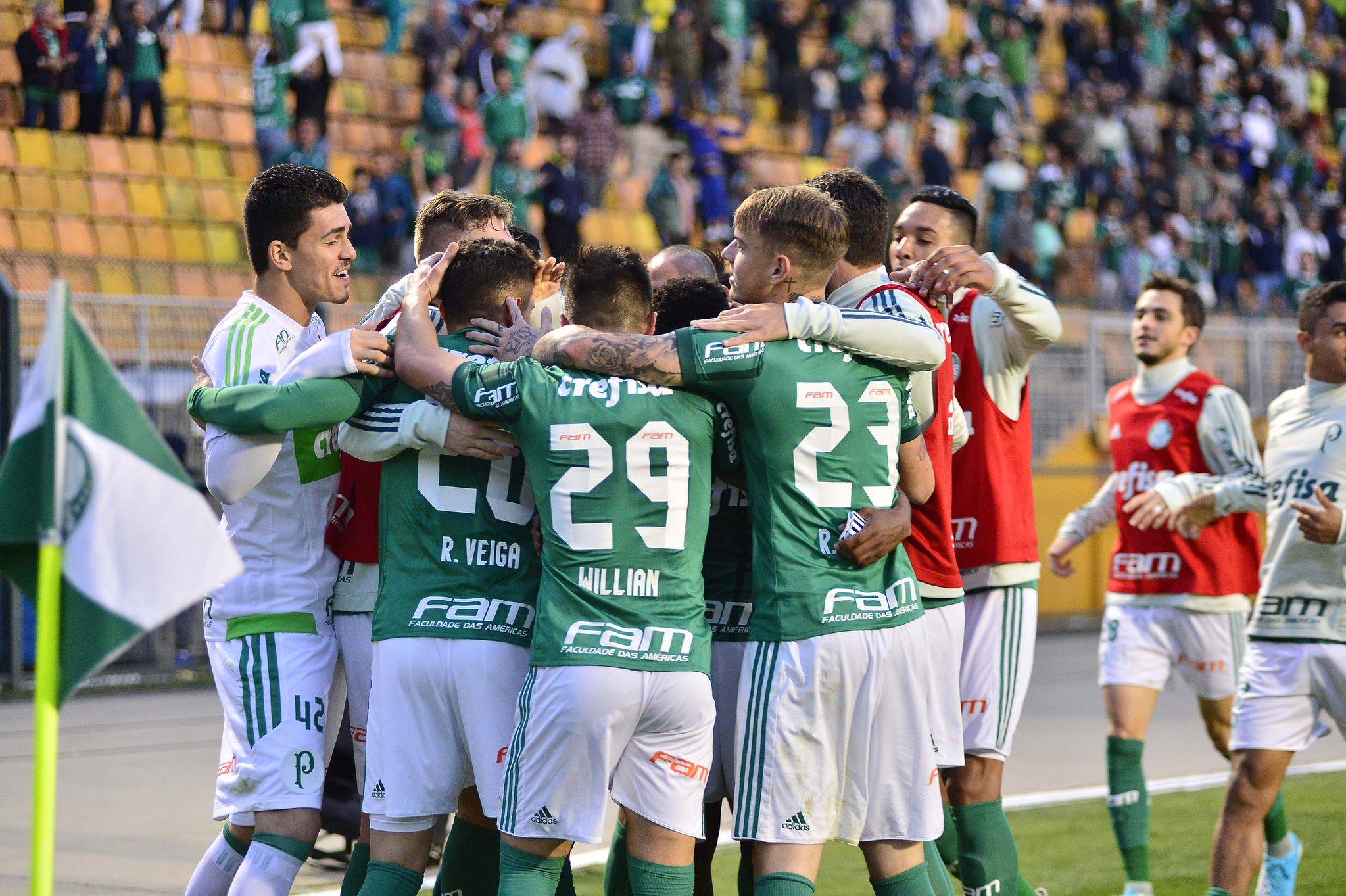 noticia Palmeiras vence mais uma e segue embalado no Brasileirão