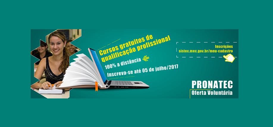 noticia Pronatec oferece mais de 50 cursos gratuitos à distância