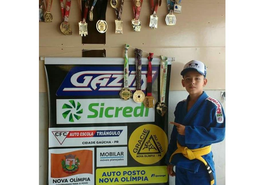 noticia Pequeno lutador participa de campeonato mundial