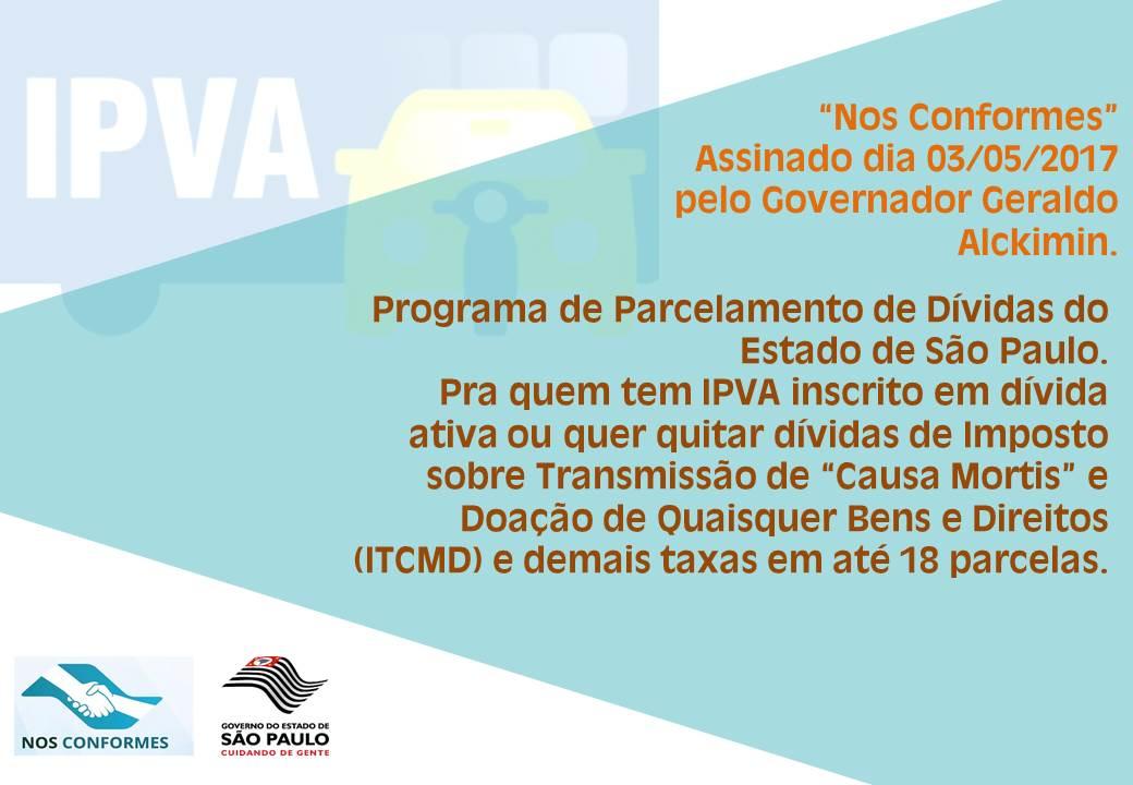 noticia IPVA - Novo programa possibilita parcelamento de débitos com redução de multa e juros