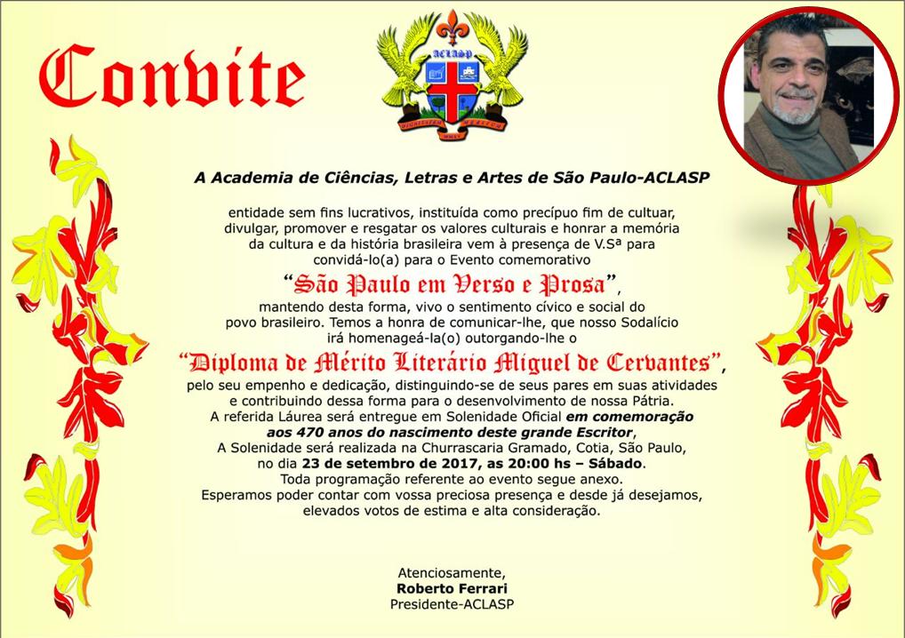 noticia Poeta e Artesão Marco A. Alvarenga será homenageado pela Academia de Ciências, Letras e Artes de São Paulo – ACLASP.