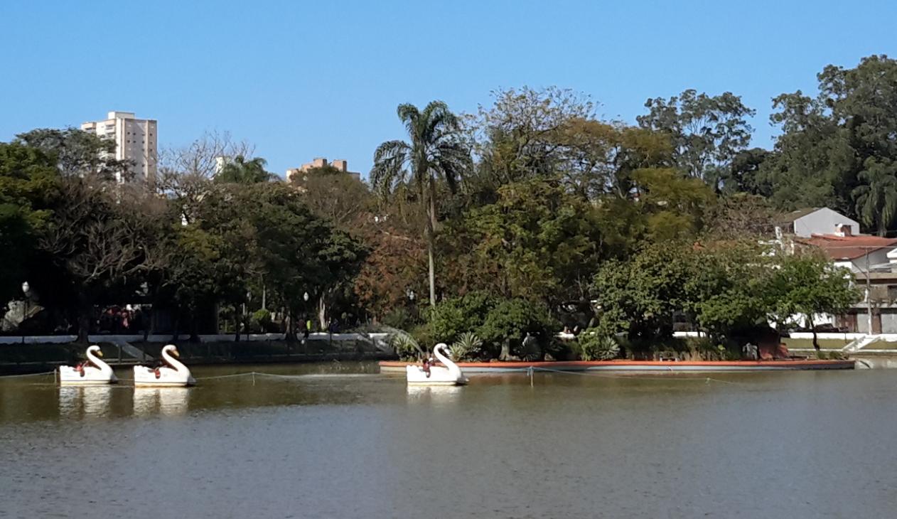 noticia Em Guarulhos - SP Lago dos Patos é uma boa opção de turismo e lazer