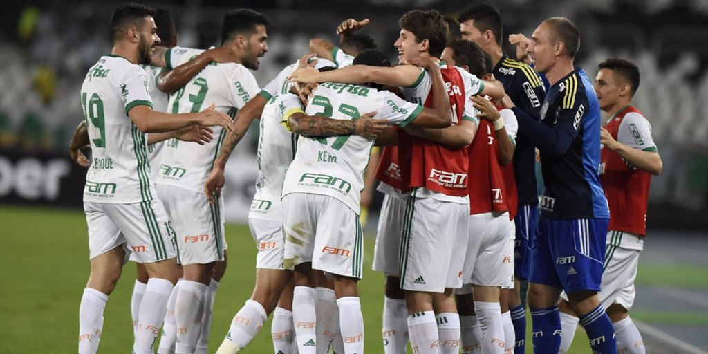 noticia Palmeiras vence o Botafogo fora de casa