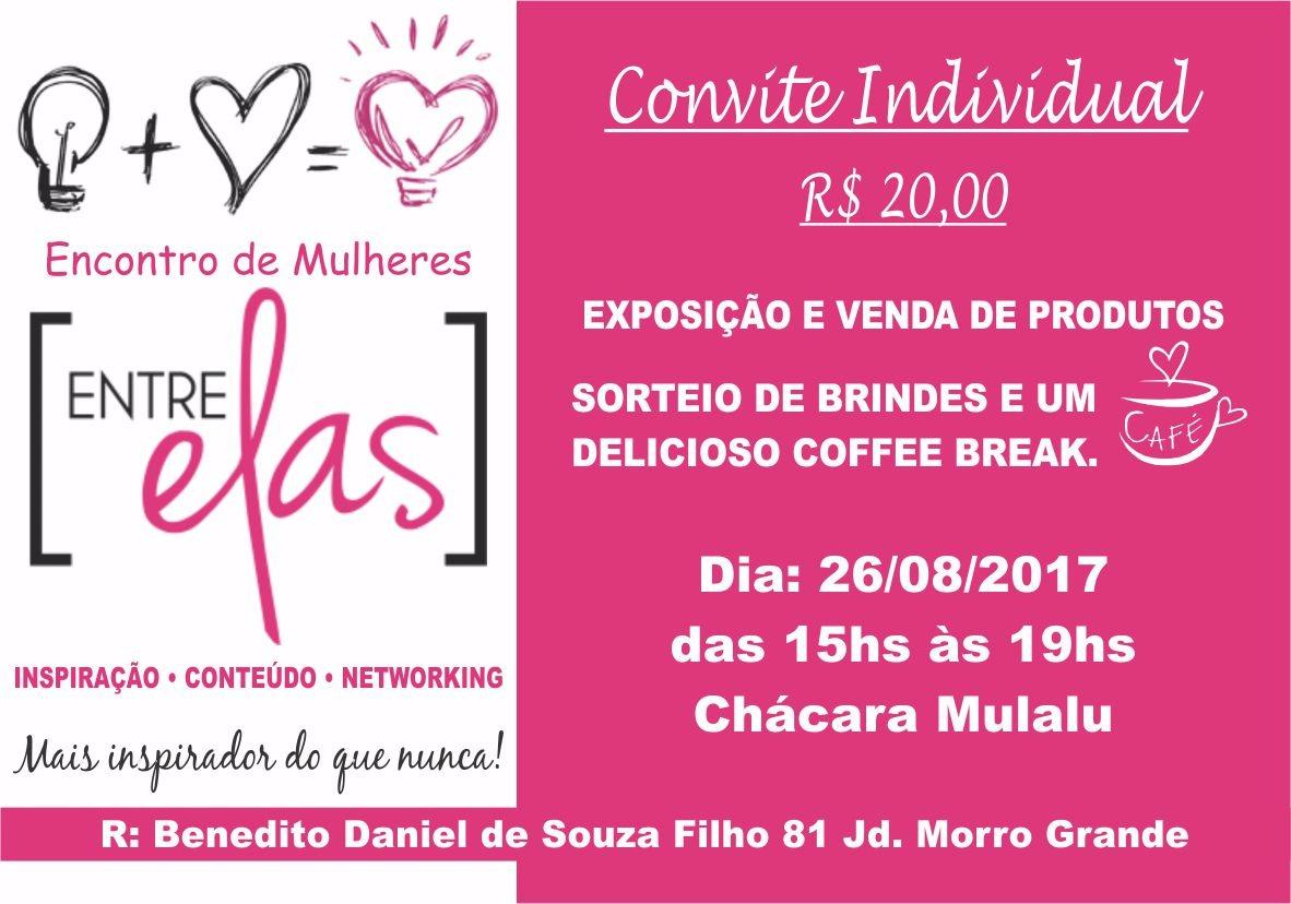 noticia Encontro de mulheres, Entre Elas com exposição e venda de produtos será realizado dia 26/08 em Caieiras, SP
