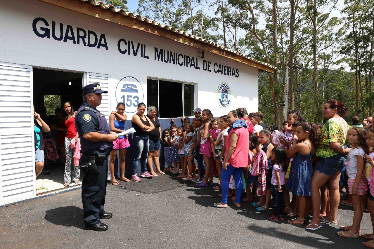 noticia Guarda Civil Municipal de Caieiras é parceira da Comunidade