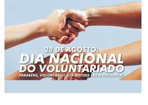 noticia DIA NACIONAL DO VOLUNTARIADO