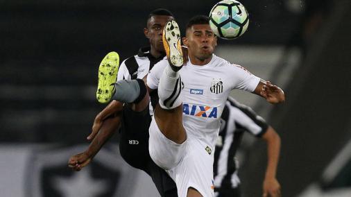 noticia Santos é derrotado pelo Botafogo no Engenhão