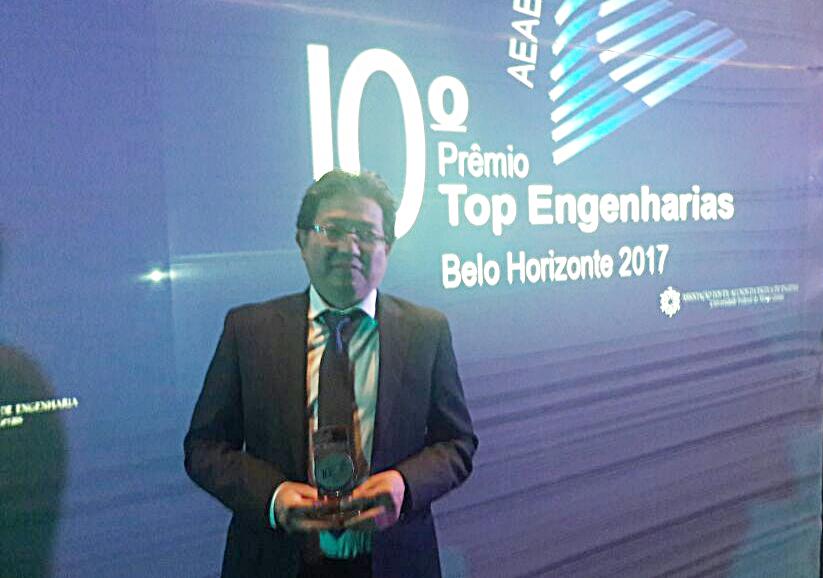 noticia Empresário de Mairiporã recebe prêmio em Belo Horizonte- MG