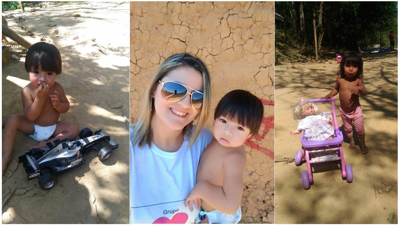 noticia Tribo Guarani recebe doações de voluntários de São Bernardo do Campo