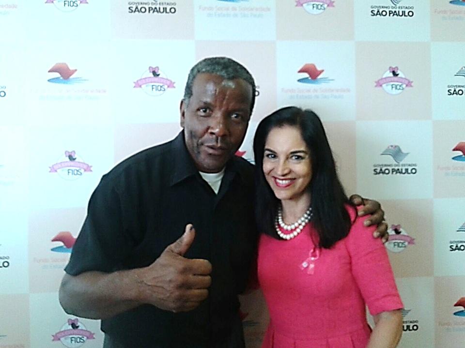noticia Primeira-Dama do Estado de São Paulo e Presidente do Fundo Social de Solidariedade do Estado de São Paulo participa da doação de 50 quilos de cabelo para o Hospital do Câncer